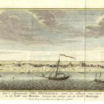 22.07 Gezigt- Rare Old Maps and Antique Prints for Sale