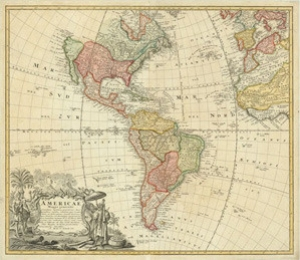 Antique Maps of America for Sale