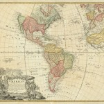 America - Homann - 1746- Rare Old Maps for Sale