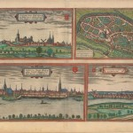 21.20 Braun & Hogenberg - Duisburg - 1575- Rare World Prints for Sale