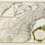 120.24 Partie de l'Amerique - 1778- Rare Old Maps for Sale
