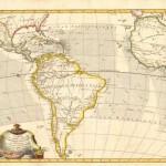 120.39 Carte pour - South Am 1775- Rare Old Maps for Sale