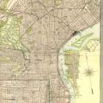 120.44 Philadelphia - 1905- Rare Old Maps and World Prints for Sale