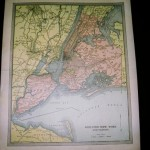 Greater New York- Antique Maps of America for Sale