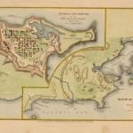 120.51 Siege of Louisburg - 1745- Orginial Civil War Maps and Rare World Prints for Sale