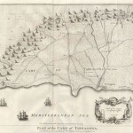 20.04 Plan of the Camp - 1745 - Tindal- Rare World Prints for Sale