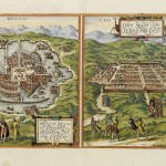 21.00 Braun - Mexico - 1575- Rare Old Maps for Sale