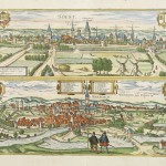 22.21 Braun - Hogenberg - Germany - 1575- Old Rare World Prints and Maps for Sale
