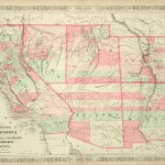 368-25 California - New Mexico - Arizona - 1863- Antique Maps of America for Sale