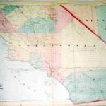 California - Nevada 368-36- Antique Maps of America for Sale