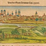 22.27 France - City - Munster - 1560 (b) - Rare World Prints for Sale