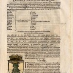 22.34 Woodblock - leave coat of arms - Rare World Prints for Sale
