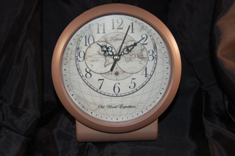40.222 Web - Clock- Original Rare Maps and World Globes for Sale- Cartographic Associates