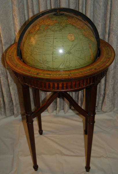 40.325 Globe and Print 2012- Rare Original Maps and World Globes for Sale