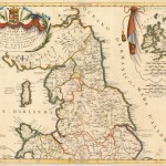 530.30 Parte England Coronelli 1691- Rare Old Maps for Sale