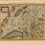 570.07 Switzerland - Mercator - 1631- Rare Old Maps for Sale