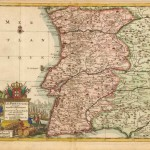 570.20 Portugal - Aa - 1715- Antiqe Maps and Prints