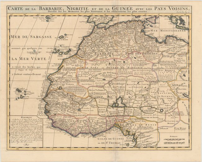 800.05 Africa - Chatelain - 1719- Rare Old Maps for Sale at Cartographic Associates