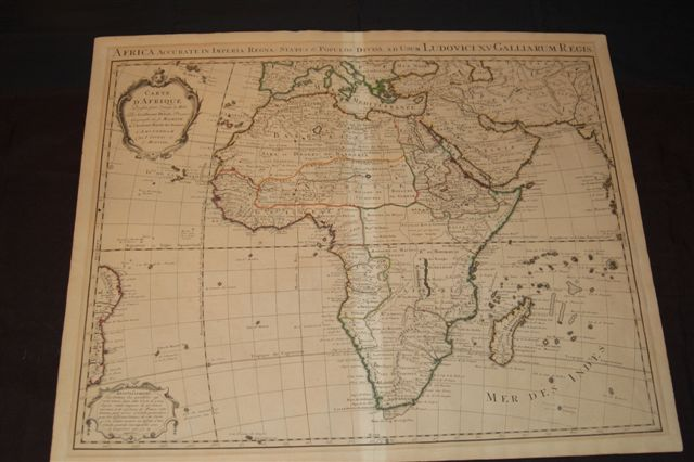 800.09 Africa - Covens-Mortier 1742- Rare Old Maps and More for Sale