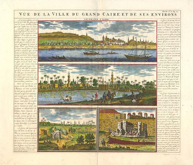 800.10-Egypt - Chatelain - text - 1720 - Rare World Prints for Sale