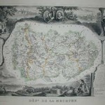Meurthe 570-146- Antique Maps and Prints for Sale