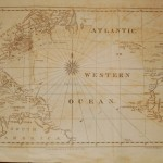 120.23 Atlantic Ocean - Blunt - 1831 - Antique Maps of America for Sale