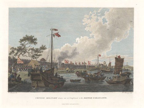 Rare World Prints for Sale- 22.21 Chinese Military Drawn Out for the British Govt