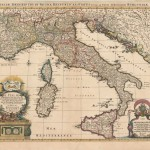 520.24 Italy-Jailot-Mortier-1694- Rare Antique Maps of America & More for Sale