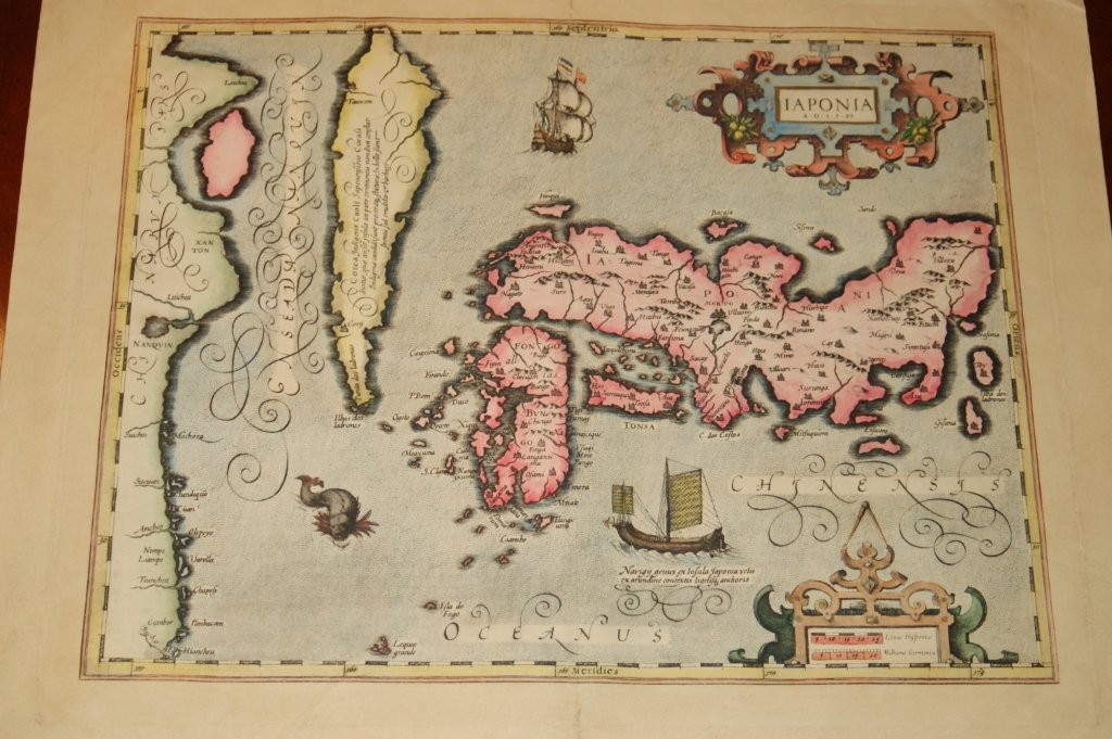 Antique Maps of America and Europe for Sale