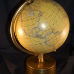 Antique Globe of America and Europe for Sale