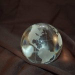 40.220 crystal globe for Sale