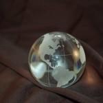 40.220 crystal globe for Sale