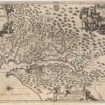 120.03 Nova Virginiae Tabula - 1671 - Rare Old Maps for Sale