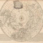 700.13 North Pole - 1748 - Bowen- Rare Old Maps for Sale