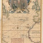 520.29 Atlantic and Western Ocean - 1740 - Bowen Rare Old Maps for Sale