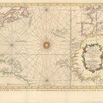 700.07 Rare Old Map of Atlantic Ocean - Bellin - 1746 for Sale