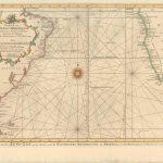 700.14 Atlantic Ocean South - Bellin - 1746- Rare Old Maps for Sale