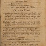 120.14 Geography Book - 1796 - Morse - 3- Rare Antique Pritns for Sale Here