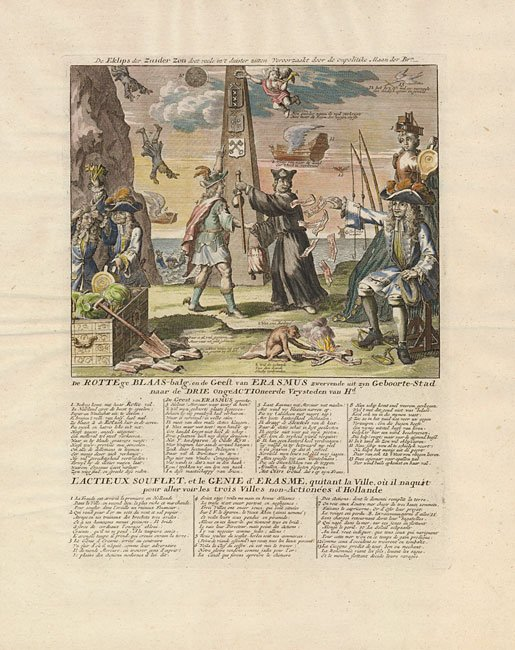 22.24 Pollitical Cartoon - Eklips- Antique Maps and Prints for Sale Here