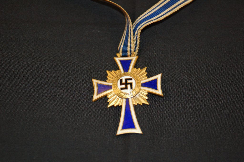 Nazi Mother's Cross For Sale - World War II Maps & More